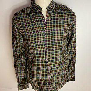 Amsterdams Blauw Scotch/Soda BNWT plaid shirt Med